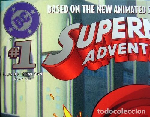Tebeos: Superman Adventures Number 1 Original American Issue - Foto 2 - 118592091