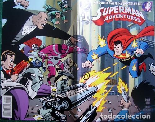 Tebeos: Superman Adventures Number 1 Original American Issue - Foto 4 - 118592091