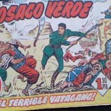 Tebeos: EL COSACO VERDE NUMEROS 1 Y 2. Lote 121161234