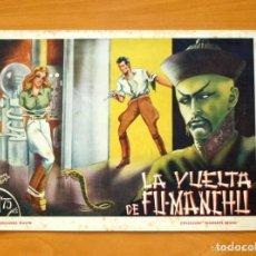 Tebeos: DIAMANTE NEGRO Nº 1-LA VUELTA DE FU-MANCHU - EDICIONES RIALTO 1944. Lote 128359563