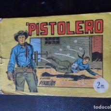 Tebeos: EL PISTOLERO Nº 1 EDITORIAL ANDALUZA 1961.. Lote 122306015
