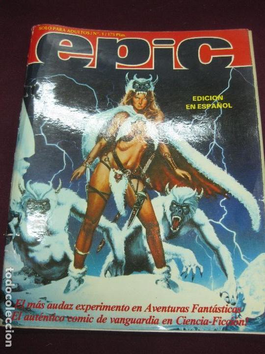 EPIC Nº 1. GYESA 1982. (Tebeos y Cómics - Números 1)