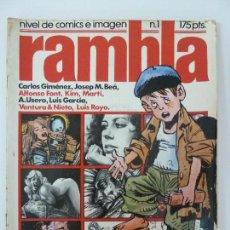 Tebeos: RAMBLA Nº1. Lote 123381419