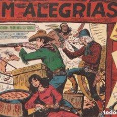 Tebeos: JIM ALEGRIAS, Nº 1. ORIGINAL AÑO 1.960. DIBUJANTE M. GAGO. EDITORIAL MAGA.. Lote 127185203