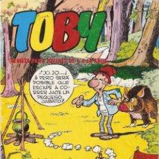 Tebeos: TOBY, Nº 1. ES ORIGINAL AÑO 1982. CONTIENE 8. PÁGINAS DIBUJADAS POR AMBRÓS. EDITORIAL VALENCIANA. Lote 127198891