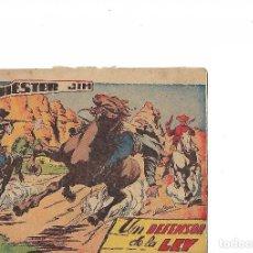Tebeos: WINCHESTER JIM Nº 1- UN DEFENSOR DE LA LEY-GRAFICAS RICART. Lote 128964775