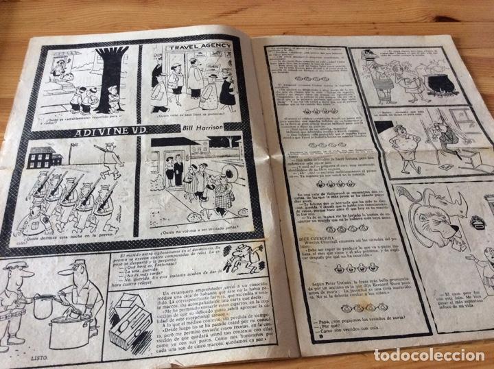 Tebeos: REVISTA PEPECOLA No 1 1959 Completo pero con recorte en la ultima pagina - Foto 4 - 129299279