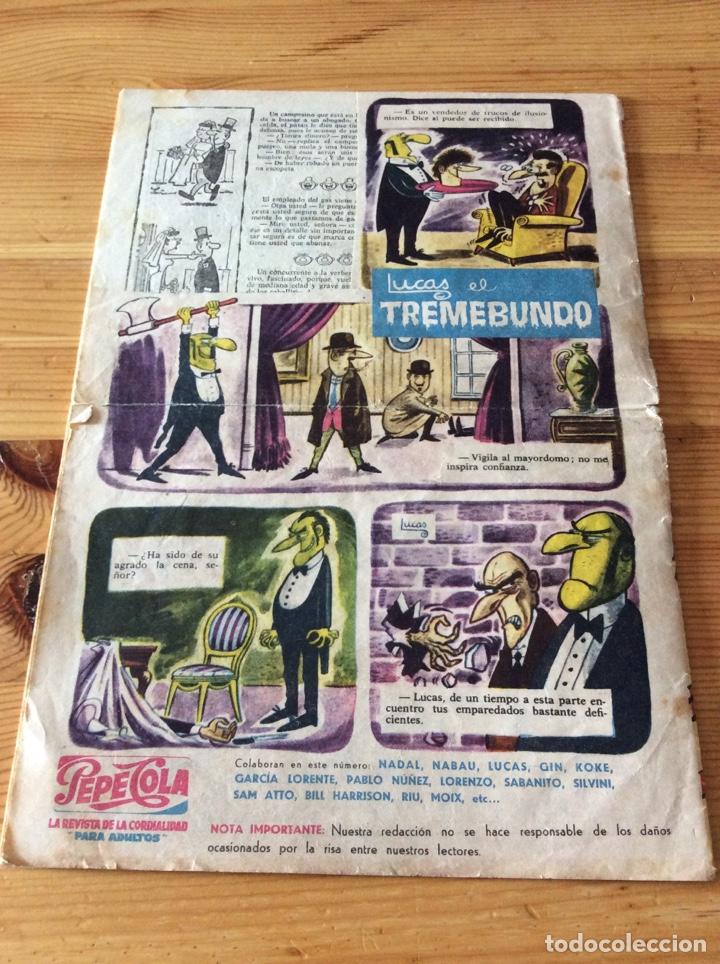 Tebeos: REVISTA PEPECOLA No 1 1959 Completo pero con recorte en la ultima pagina - Foto 7 - 129299279