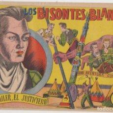 Tebeos: BOB TAYLER EL JUSTICIERO Nº 1. LOS BISONTES BLANCOS. MUY RARO ASÍ. VALENCIANA 1941. (24,5X17) 16 PÁG. Lote 129513863