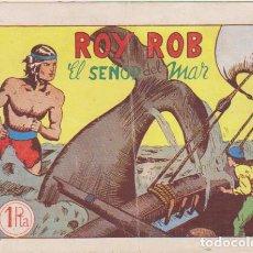 Tebeos: ROY ROB Nº 1. EL SEÑOR DEL MAR. EDITORIAL MANRAB 1954.. Lote 129513879
