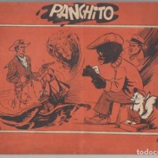 Tebeos: ÁLBUM PANCHITO Nº 1. TESORO 1945. RARÍSIMO.. CONTIENE 7 AVENTURAS DE PANCHITO. 30X20. TAPAS BLANDAS,. Lote 129513891