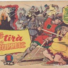 Tebeos: HISTORIA Y LEGENDA Nº 1. HISPANO AMERICANA 1956.. Lote 129513895