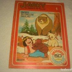 Tebeos: JACKY EL BOSQUE DE TALLAC Nº 1 ,JACKY EL OSO DE TALLAC . FHER.. Lote 129529847