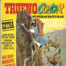 Tebeos: TRUENO COLOR, EXTRA Nº 1, 3ª ÉPOCA, LOS NORMANDOS DE OSFOLD,EDITORIAL BRUGUERA AÑO 1978.. Lote 129532255