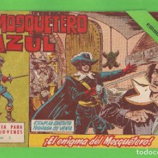 Tebeos: EL MOSQUETERO AZUL - Nº 1 - ¡EL ENIGMA DEL MOSQUETERO! - (1962) - BRUGUERA.. Lote 129544883