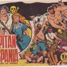 Tebeos: EL CAPITÁN HISPANIA Nº 1. CREO 1959. MUY ESCASO ASÍ. Lote 130417202