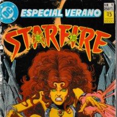 Tebeos: STARFIRE. ZINCO 1991. Nº 1 ESPECIAL VERANO (ÚNICO DE LA COLECCIÓN). Lote 130417222