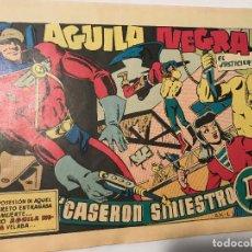 Tebeos: AGUILA NEGRA DE RIPOLL - FACSIMIL NUMERO 1 -ED BRUGUERA 1948. Lote 130513970