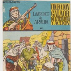 Tebeos: LAWRENCE DE ARABIA Nº 1. GALAOR 1965. Lote 131346442