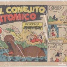 Tebeos: EL CONEJITO ATÓMICO Nº 1. CLIPER 1958. Lote 131347043