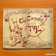Tebeos: CUENTOS VIVOS Nº 1, EL CONDE TAL - DIBUJADOS POR APELES MESTRES - EDITADO POR HERMENEGILDO MIRALLES. Lote 132070014