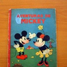 Tebeos: AVENTURAS DE MICKEY, Nº 1 - EDITORIAL SATURNINO CALLEJA 1934 - TAMAÑO 27'5X21 - VER FOTOS. Lote 132072314