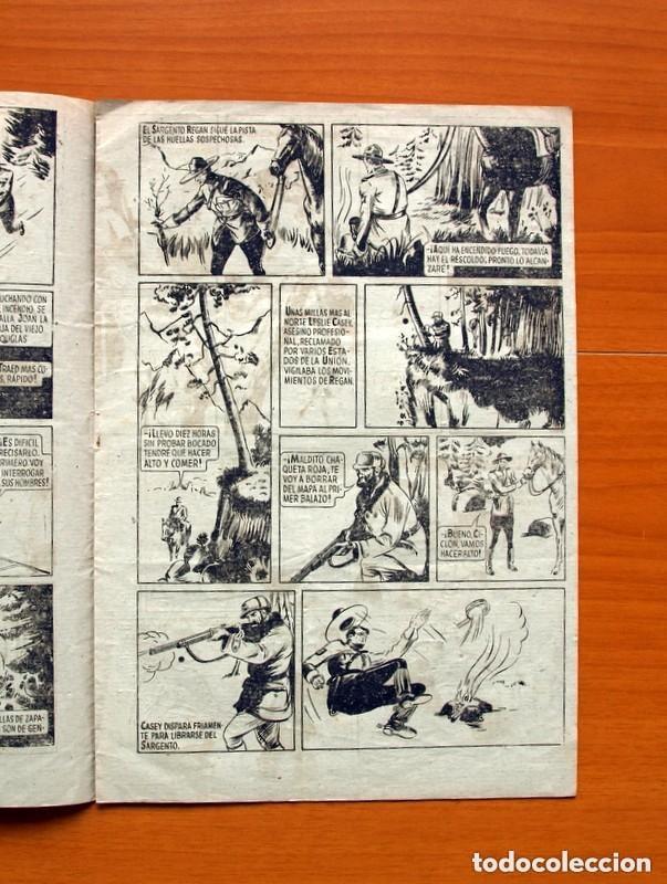 Tebeos: 5 héroes, nº 1, El brazo de la ley - Ediciones Fiac 1946 - Tamaño 30x21 - ver fotos - Foto 3 - 132100258