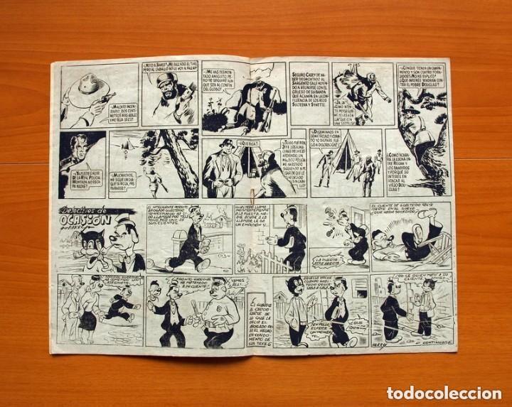 Tebeos: 5 héroes, nº 1, El brazo de la ley - Ediciones Fiac 1946 - Tamaño 30x21 - ver fotos - Foto 4 - 132100258