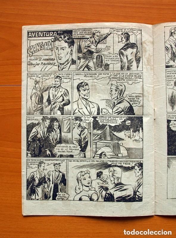 Tebeos: 5 héroes, nº 1, El brazo de la ley - Ediciones Fiac 1946 - Tamaño 30x21 - ver fotos - Foto 5 - 132100258