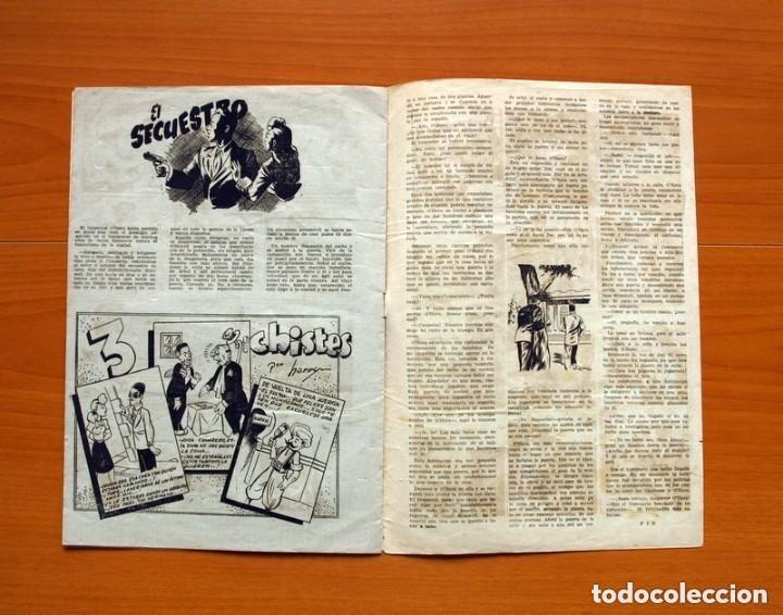 Tebeos: 5 héroes, nº 1, El brazo de la ley - Ediciones Fiac 1946 - Tamaño 30x21 - ver fotos - Foto 6 - 132100258