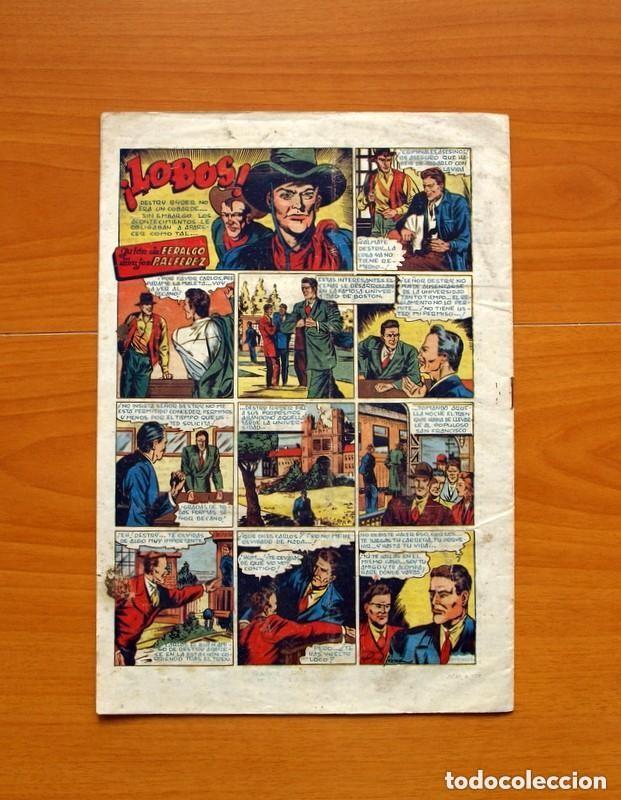 Tebeos: 5 héroes, nº 1, El brazo de la ley - Ediciones Fiac 1946 - Tamaño 30x21 - ver fotos - Foto 7 - 132100258