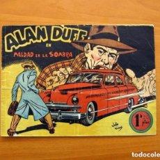 Tebeos: ALAN DUFF, Nº 1 MALDAD EN LA SOMBRA - EDITORIAL MARCO 1952 - TAMAÑO 17X24 - VER FOTOS. Lote 132100658