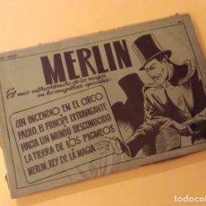 Tebeos: MERLIN. ALBUM VERDE (H. AMERICANA). Nº 1. Lote 132244298