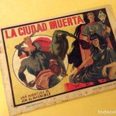 Tebeos: COLECCION DIAMANTE NEGRO (RIALTO - 1943). LA CIUDAD MUERTA.. Lote 132245806