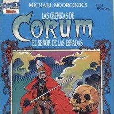 Tebeos: LAS CRÓNICAS DE CORUM. EDICIONES B 1988. Nº 1. Lote 132297725