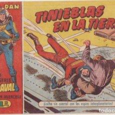 Tebeos: VENDAVAL Nº 1. EL CAPITÁN INVENCIBLE. BRUGUERA 1956. Lote 132298391
