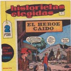 Tebeos: HISTORIETAS ELEGIDAS Nº 1. MANHATTAN 1964. Lote 132298403