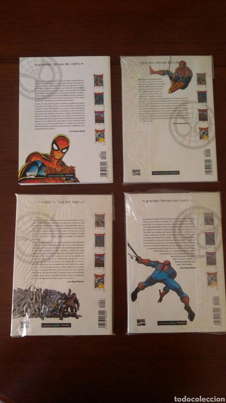 Tebeos: Lote comics forum de Spiderman, colección grandes heroes del mundo. Número 1,2,3 y 4 - Foto 2 - 132658169