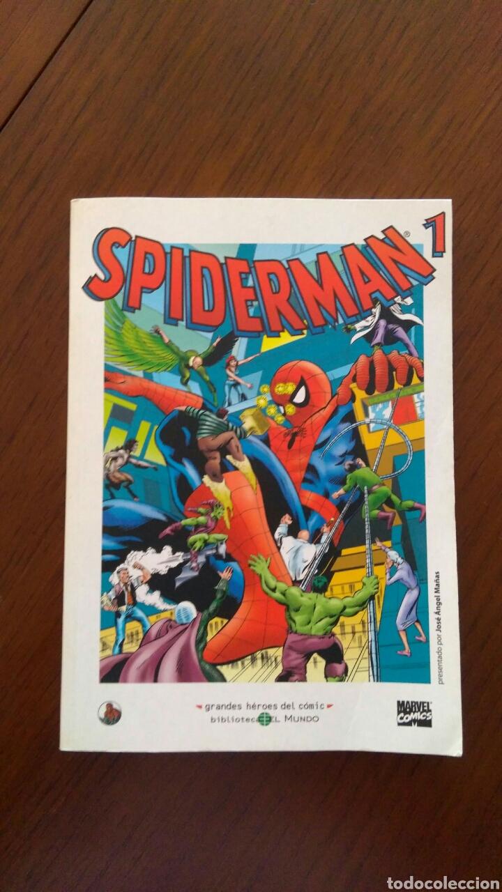 Tebeos: Lote comics forum de Spiderman, colección grandes heroes del mundo. Número 1,2,3 y 4 - Foto 3 - 132658169