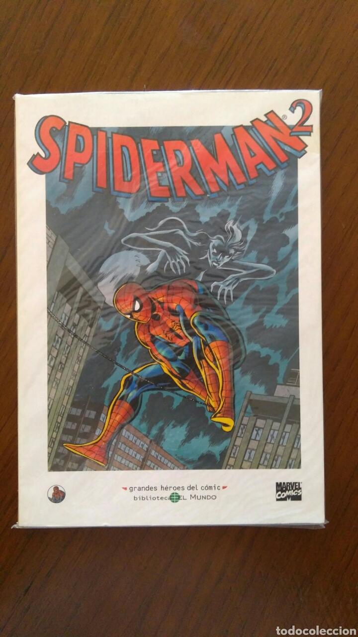 Tebeos: Lote comics forum de Spiderman, colección grandes heroes del mundo. Número 1,2,3 y 4 - Foto 5 - 132658169
