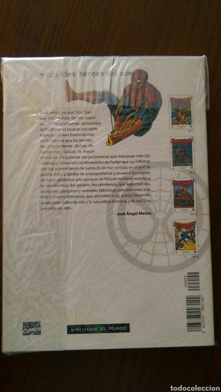Tebeos: Lote comics forum de Spiderman, colección grandes heroes del mundo. Número 1,2,3 y 4 - Foto 6 - 132658169