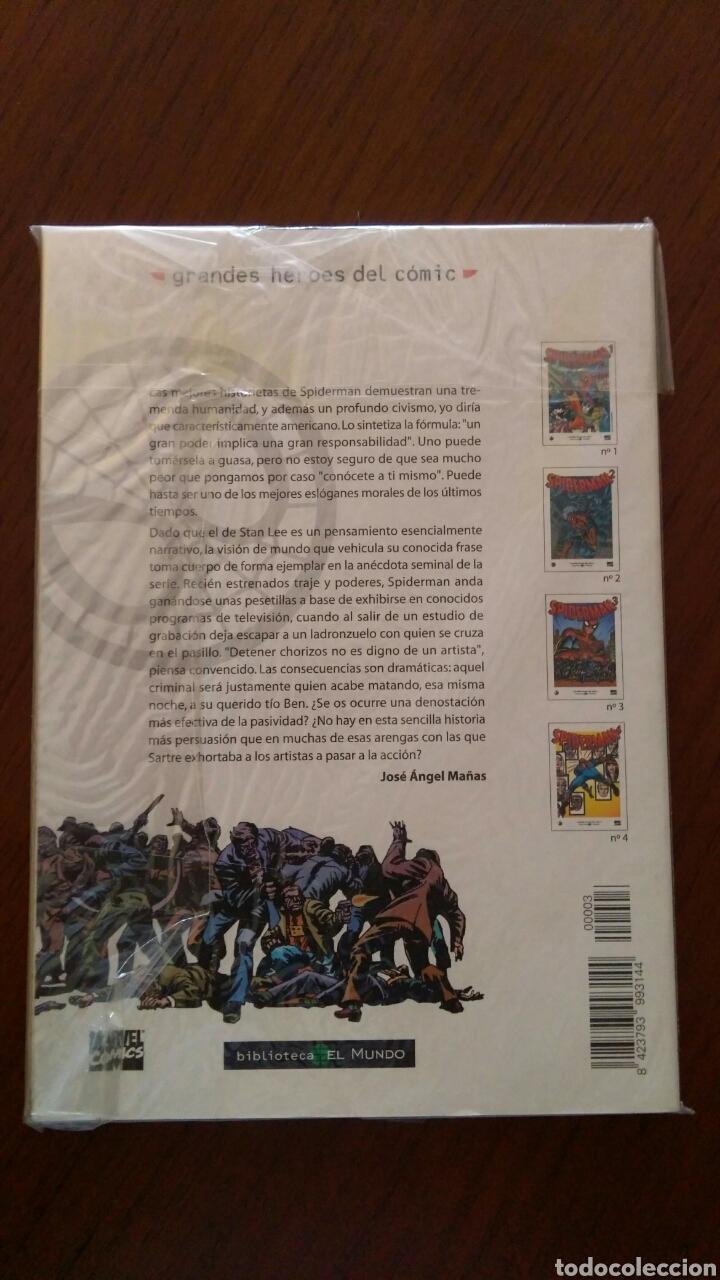 Tebeos: Lote comics forum de Spiderman, colección grandes heroes del mundo. Número 1,2,3 y 4 - Foto 8 - 132658169