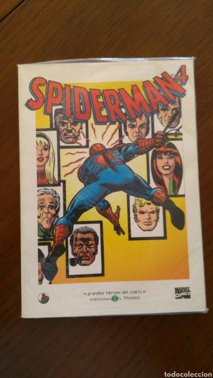 Tebeos: Lote comics forum de Spiderman, colección grandes heroes del mundo. Número 1,2,3 y 4 - Foto 9 - 132658169