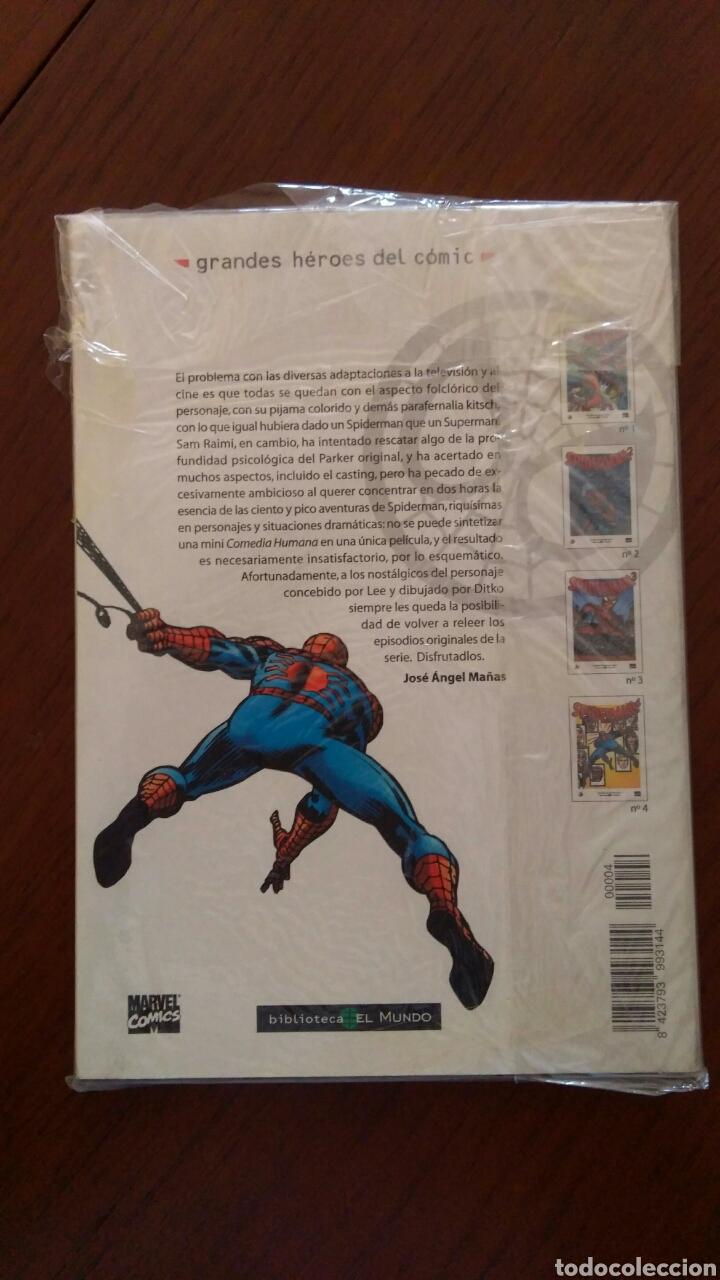 Tebeos: Lote comics forum de Spiderman, colección grandes heroes del mundo. Número 1,2,3 y 4 - Foto 10 - 132658169