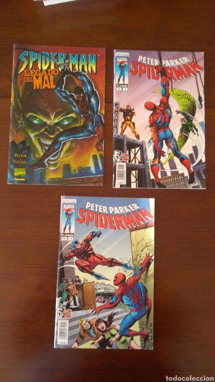 LOTE DE COMICS MARVEL FORUM SPIDERMAN. NÚMERO 1 Y NÚMERO 2 INCLUIDOS (Tebeos y Cómics - Números 1)
