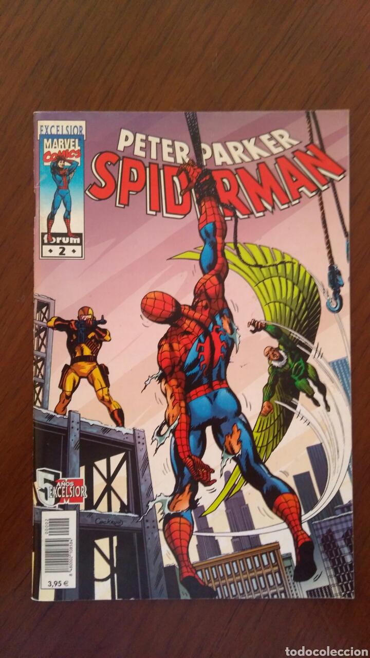 Tebeos: Lote de Comics Marvel Forum Spiderman. Número 1 y número 2 incluidos - Foto 3 - 132658707