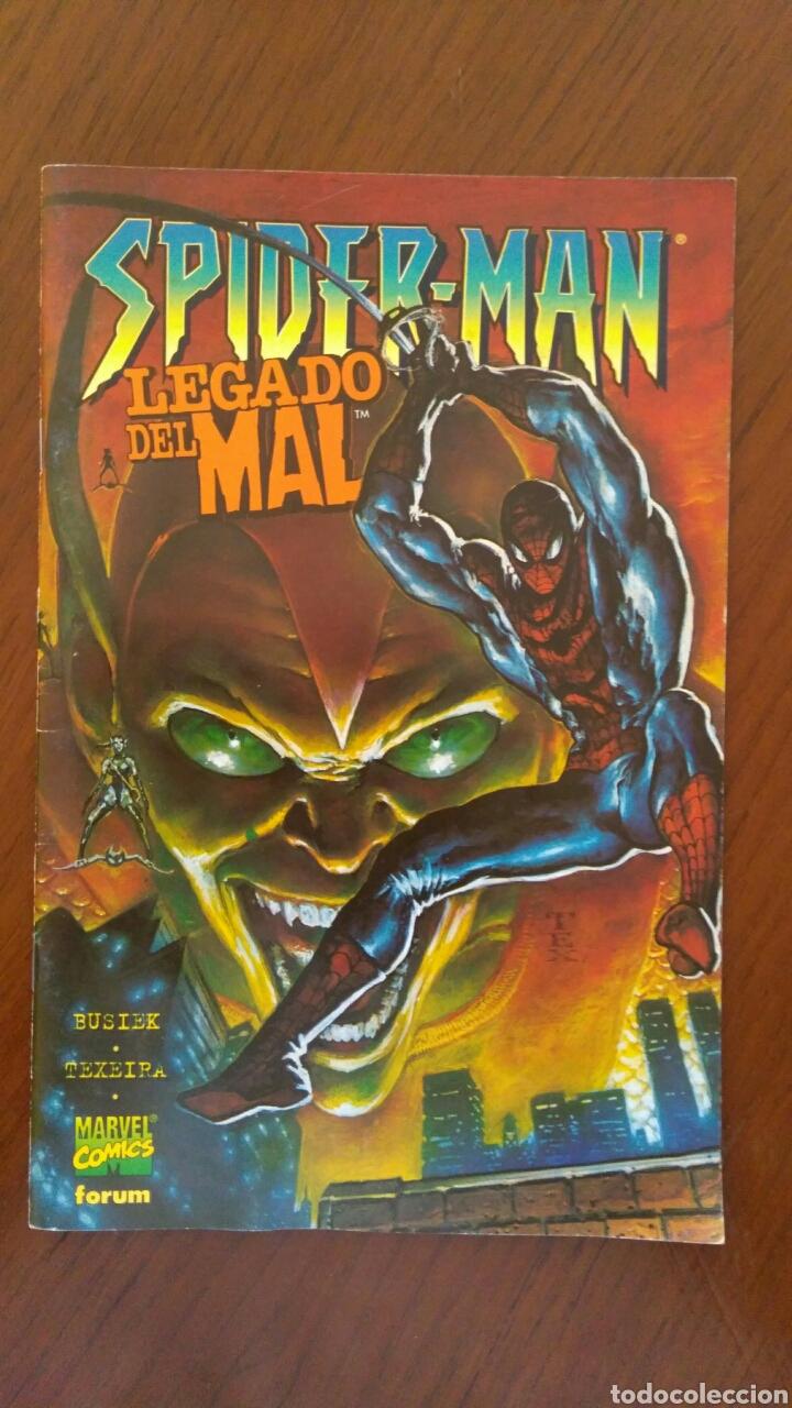 Tebeos: Lote de Comics Marvel Forum Spiderman. Número 1 y número 2 incluidos - Foto 9 - 132658707