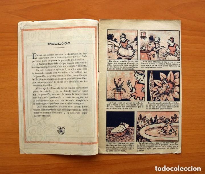 Tebeos: Historias y cuentos de TBO - nº 1, La pulgarcilla - Editorial Buigas 1919 - Tamaño 16x21, ver fotos - Foto 2 - 132716162