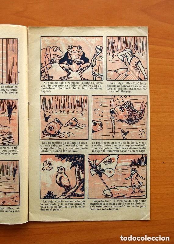 Tebeos: Historias y cuentos de TBO - nº 1, La pulgarcilla - Editorial Buigas 1919 - Tamaño 16x21, ver fotos - Foto 3 - 132716162