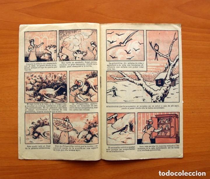 Tebeos: Historias y cuentos de TBO - nº 1, La pulgarcilla - Editorial Buigas 1919 - Tamaño 16x21, ver fotos - Foto 4 - 132716162